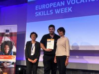 Winner of the European award about excellence in training